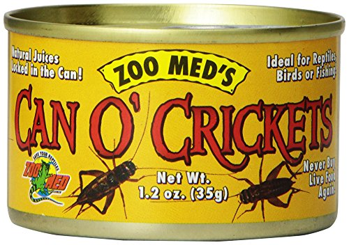 Zoomed Food Can O'Crickets - 4 gr