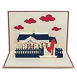 Favour Pop Up Hochzeitskarte - Liebespaar Auf kleinstem Raum ein filigranes Kunstwerk. TL037