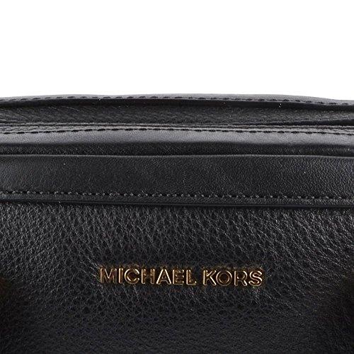 MICHAEL by Michael Kors Taryn Small Sac a Main en Cuir Noir Noir