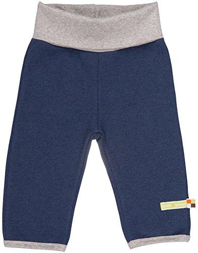 loud + proud Unisex Baby Hose Hose Woll-anteil, Nachtblau (Midnight mi), 86/92 cm
