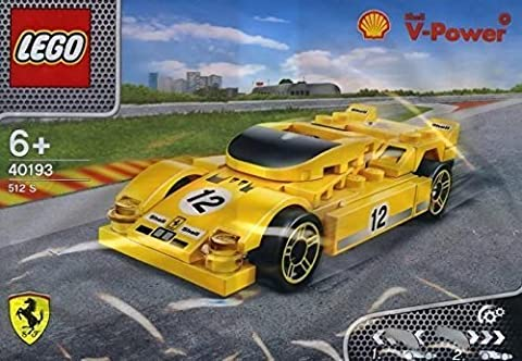 Shell V-power Lego Collection 40193 Ferrari 512 S Exclusive Sealed …