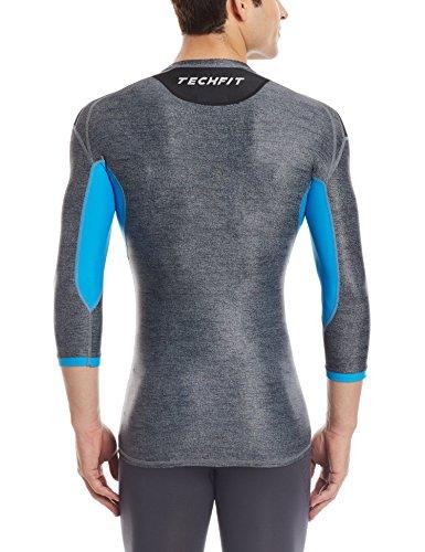 Adidas–Tuta sportiva TS Ho Jo Black Melange/Chill Blue