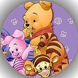 Premium Esspapier Tortenaufleger Tortenbild Geburtstag Winnie Pooh N9