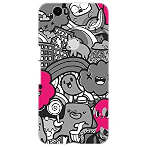 a AND b Designer Printed Mobile Back Cover / Back Case For Huawei Nexus 6P (Nexus_6P_3D_1234)