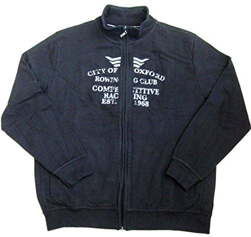 Kitaro City of Oxford Veste Veste Sweat-Shirt à Poitrine Clé Bleu Marine m de XXL (M 48)