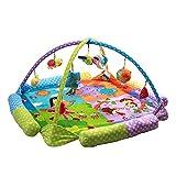 JYSPORT Alfombras de juego y gimnasios bebés animalitos gimnasio para manta de juegos manta juguetes educativos (animal)