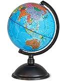 Juvale - Globe terrestre avec support rotatif- Apprentissage - Éducationnel - De bureau - Idéal pour enfants