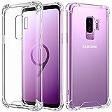 AVANA Samsung Galaxy S9 Plus Hülle Durchsichtige Schutzhülle Case TPU Schale Cover Kratzfest Handyhülle Klar Bumper Kantenschutz für Samsung Galaxy S9+ Transparent