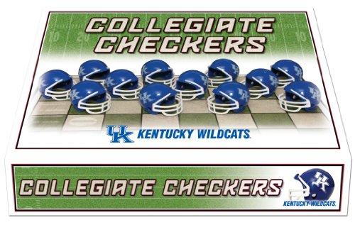 Unbekannt NCAA Helm Checker Set, Kentucky Wildcats Kentucky Coaster