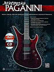 Shredding Paganini: Heavy Metal Guitar Meets 9 Masterpieces by Niccolo Paganini, Book, CD & DVD by German Schauss (2013-09-01)