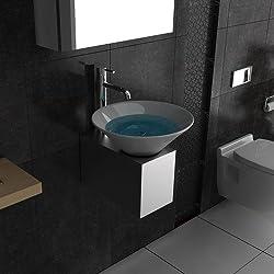 Waschbecken / Waschplatz / Waschtisch für Ihr exklusives Bad / Badezimmer / Designer Waschtisch / Alpenberger / Serie 60 / Keramik Waschbecken