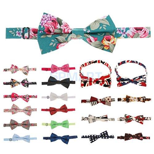 ELECTROPRIME Fashion Mens Wedding Bowtie Novelty Tuxedo Necktie Bow Tie Classic Adjustable