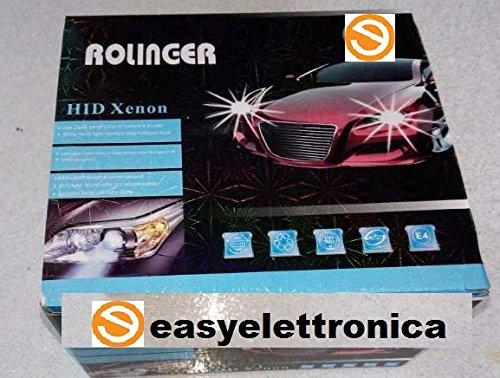 Zetong HID Xenon Licht Scheinwerfer Conversion Kit H1 6000K Wechselbirne 12 V 35 W DC HID Conversion Kit