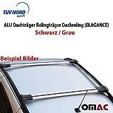 Alu Dachträger Gepäckträger GRAU MB Viano Vito W639/W447 2003>mit TÜV ABE (ELG)