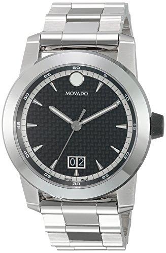 Movado Homme Suisse à quartz en acier inoxydable montre de style décontracté, couleur: Les LED Offrent (modèle: 0607050)