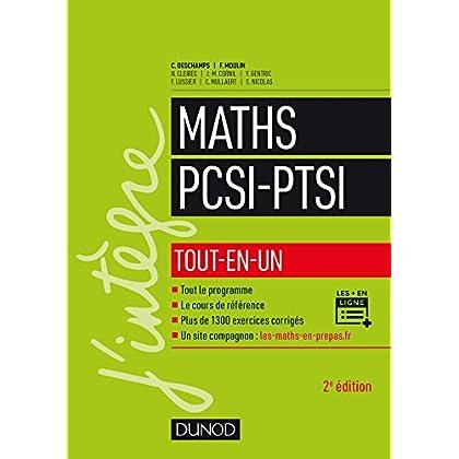 Maths PCSI-PTSI - 2e éd. - Tout-en-un