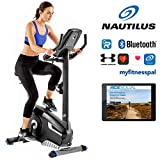 Nautilus Hometrainer U626 Heimtrainer, Bluetooth kompatibel mit RideSocial, Soundsystem, Ventilator und Medienablage