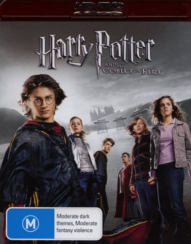 Harry Potter and the Goblet of Fire (HD-DVD) *All Region Australian Import*