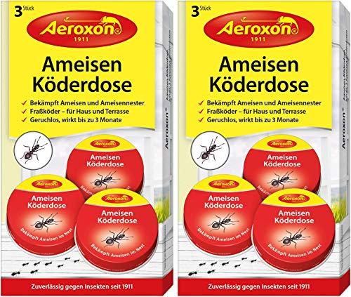 Aeroxon Ameisenfalle 2x3 Dosen - Outdoor-ant-traps
