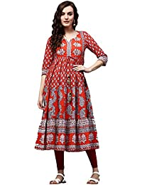 Rain And Rainbow Women's Anarkali Salwar Suit