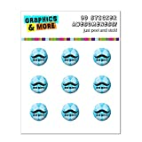 Oh Boy Moustache Bleu Argyle bébé garçon de douche Home Button Stickers pour Apple...