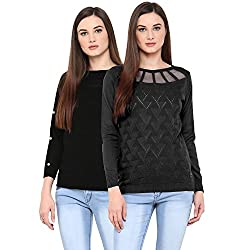 Womens Cotton Sweaters (Pack of 2)