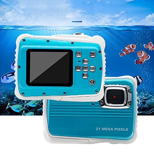 JZWX High-Definition-Kamera, 3 M Wasserdicht, Tauchen Digitalkamera, Sport Wasserdicht, Tropfen Dichte Kamera, 8-Fach Zoom, Blitz