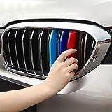 BizTech ® Parrillas de coche Inserciones Rayas decoración para BMW 5 Serie G30 G31 G38 2017