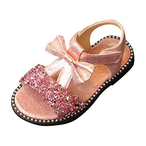 Baby Schuhe SANFASHION Kleinkind Kinder Bowknot Bling Pailletten Einzelne Prinzessin Sandalen Mädchen Kostüm Party Geburtstag Pantoletten