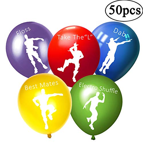 Fortnite Party Supplies Balloons - FORTNITE Dance Pose Kids Birthday Party Decorations Balloons Party Favors