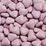 Mini Dragee Herzen Lila Italienische Schokolade 1000g