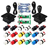 EG STARTS Classic Arcade Game Parte Mame USB Cabinet Zero Delay Encoder USB PC Game Joystick 18x Arcade Push Buttons Kit Colori Multipli