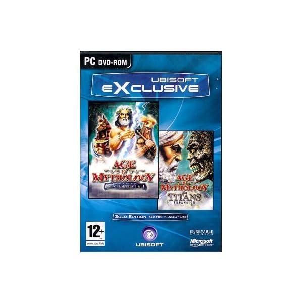 Age of Mythology Gold Edition Game PC 51zMlaayxZL