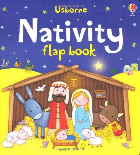 Nativity Flap Book (Usborne Flap Books)
