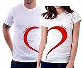 """Foto t-shirt San Valentino """"Ti Amo"""" love - tutte le tag..."""