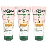 Kéranove Naturanove Bio - Après-Shampooing Nutrition Certifié Bio Avoine - Pour Cheveux Secs - 200 ml - Lot de 3