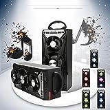 groß lautsprecher boxen Multimedia Bluetooth Kabellos tragbar Lautsprecher Super Bass mit USB / TF / AUX / FM Radio