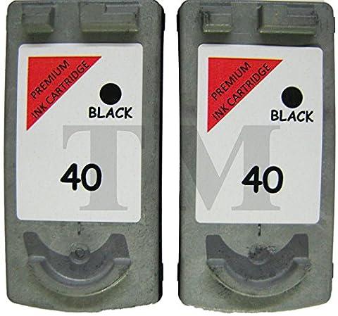 reconditionnée PG-40Lot de 2cartouches d