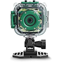 DRGORACE Kids Camera Waterproof Action Camera 1080P HD Video Camcorder for Boys Girls Birthday