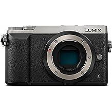 Panasonic Lumix DMC-GX80EG-S Fotocamera Digitale Mirrorless, 16 Megapixel Dual I.S. Solo Corpo