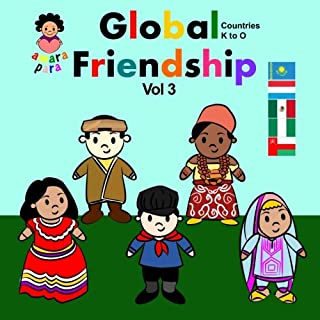 Global Friendship Vol 3: Global Friendship Vol 3 Kazakhstan - Oman: Volume 3 (Amara Para Global Friendship)