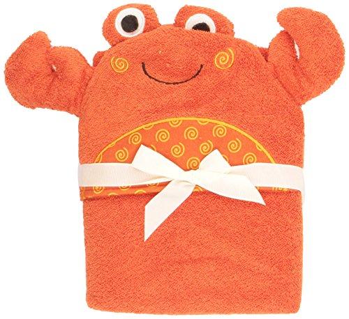 Zoocchini toalla de baño bebé Diseño Charlie el Cangrejo