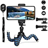 Best Flexible Tripod For Cell Phones - Tripod for iPhone, PEMOTech 3 in 1 Octopus Review