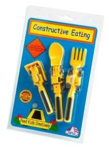 "Main Sauce Productions - Posate per bambini ""Constructive Eating"""