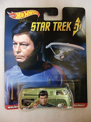 Hot Wheels 2016 Star Trek Pop Culture -VOLKSWAGEN T1 PANEL BUS GREEN REAL RIDERS by Hot Wheels (Volkswagen T1 Panel-bus)