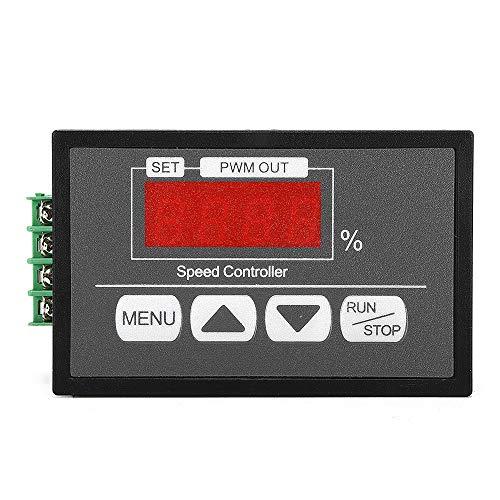 EsportsMJJ Dc6V -60V 30A Pwm Motor Speed Regulator Power Controller Led Digital Display Pwm Speed Controller -