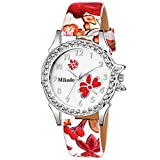 #9: Mikado Artistic Design Strap Analog Watch for Women and Girls Watch - for Girls