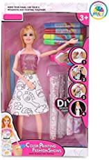 Smiles Creation SC-901 Barmee R Doll Set with Fashion Designing Accessories and Material