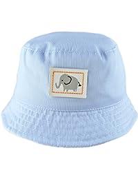 d4201147d8a51 Pesci Baby Boys Summer Bucket Sun Hat Striped Elephant (3-6 Months)