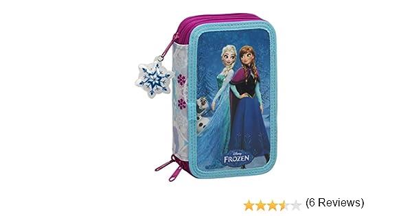 Frozen Friends Forever Astuccio a 3 scomparti con 41/pezzi colore blu
